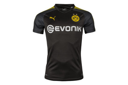 Puma Borussia Dortmund 17/18 Away S/S Football Shirt