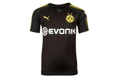 Puma Borussia Dortmund 17/18 Kids Away S/S Football Shirt