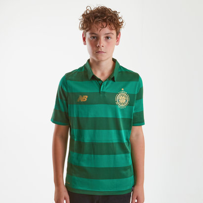 New Balance Celtic FC 17/18 Kids Away S/S Replica Football Shirt