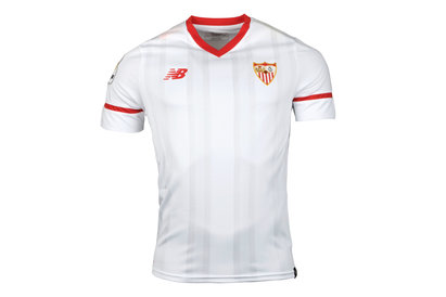 New Balance Sevilla 17/18 Home S/S Replica Football Shirt