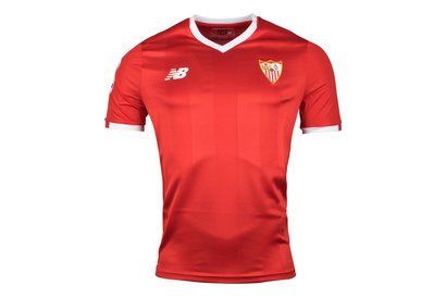 New Balance Sevilla 17/18 Away S/S Replica Football Shirt
