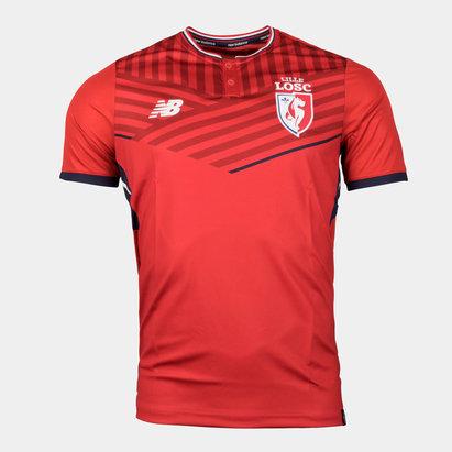 New Balance Lille OSC 17/18 Home S/S Replica Football Shirt