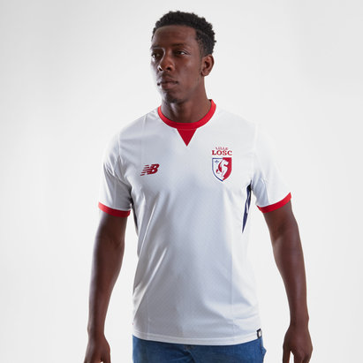 New Balance Lille OSC 17/18 Away S/S Replica Football Shirt