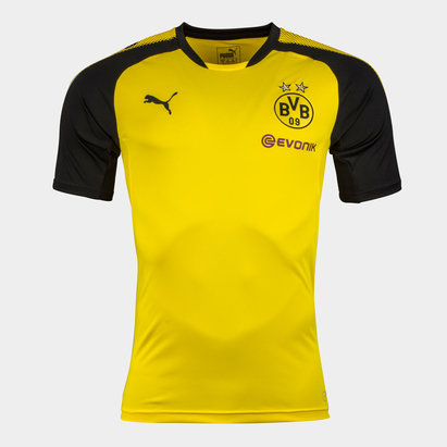 Puma Borussia Dortmund 17/18 S/S Football Training Shirt