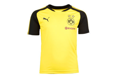 Puma Borussia Dortmund 17/18 Kids S/S Football Training Shirt
