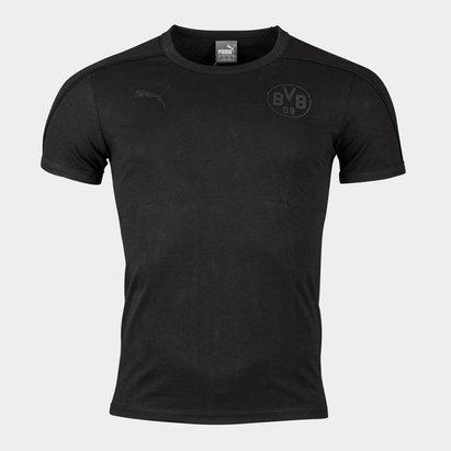 Puma Borussia Dortmund 17/18 Players Football T-Shirt