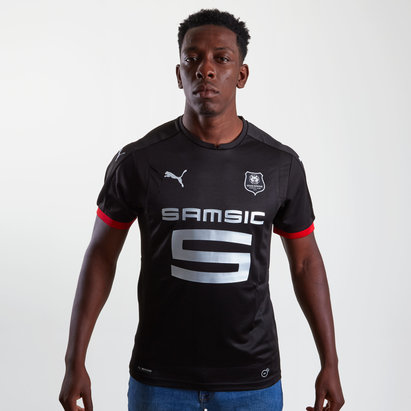 Puma Stade Rennais 17/18 Pitch S/S Football Shirt
