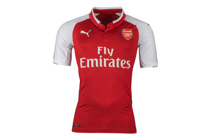Puma Arsenal 17/18 Home S/S Authentic Players Football Shirt