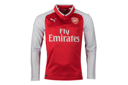 Puma Arsenal 17/18 Home L/S Replica Football Shirt