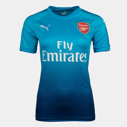 Puma Arsenal 17/18 Ladies Away S/S Replica Football Shirt