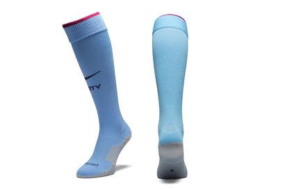 Nike Manchester City 17/18 Home Football Sock