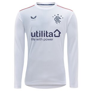 Castore Rangers Away Long Sleeve Shirt 20/21 Kids