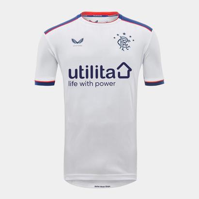 Castore Rangers Away Shirt 20/21 Kids