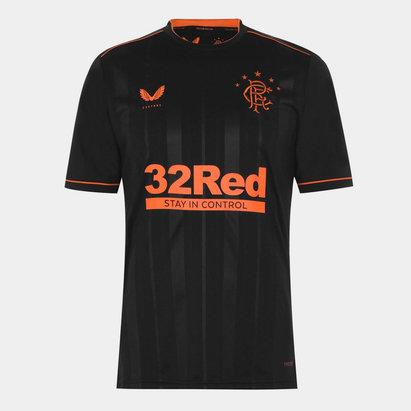 Castore Rangers Third Shirt 20/21 Mens
