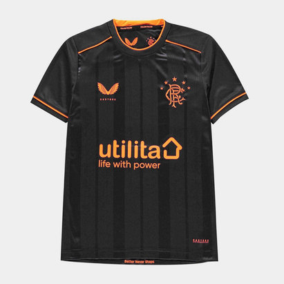 Castore Rangers Third Shirt 20/21 Kids