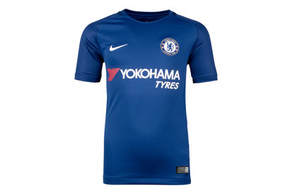 Nike Chelsea FC 17/18 Kids Home Stadium Football Shirt