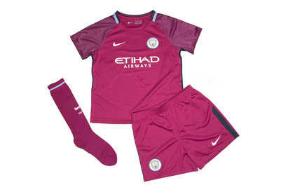 Nike Manchester City 17/18 Little Kids Away Football Kit