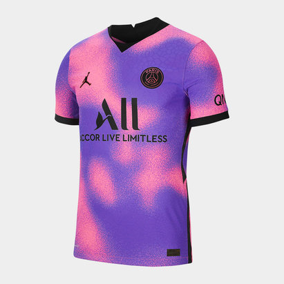 Nike Paris Saint Germain x Jordan Vapor 4th Shirt 2021