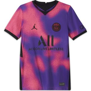 Nike Paris Saint Germain x Jordan 4th Shirt 2021 Junior