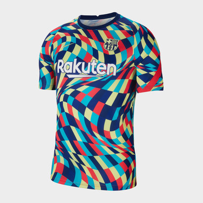 Nike Barcelona Pre Match Shirt 20/21 Mens
