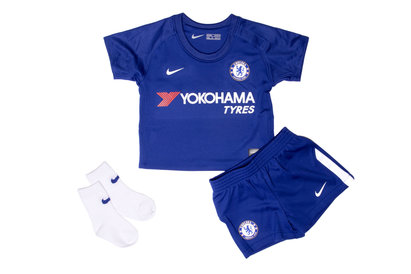 Nike Chelsea FC 17/18 Infant Home Football Kit