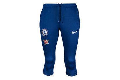 Nike Chelsea FC 17/18 Dry Squad 3/4 Football Training Pants