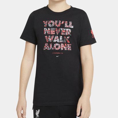 Nike Liverpool Voice T Shirt Junior