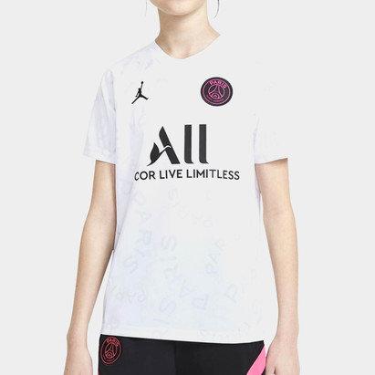 Nike Paris Saint Germain x Jordan Pre Match Shirt Junior
