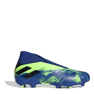 adidas Nemeziz 19.3 Laceless Firm Ground Football Boots Mens