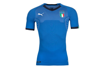 Puma Italy 2018 Home Authentic Players Issue S/S Football Shirt