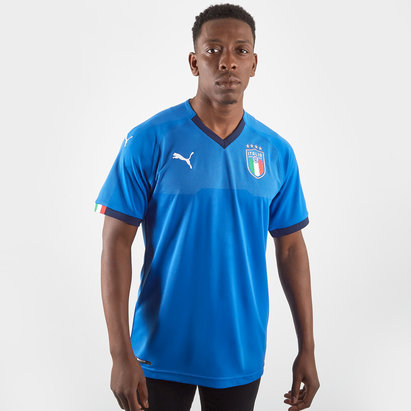 Puma Italy 2018 Home S/S Replica Football Shirt