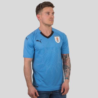 Puma Uruguay 17/18 Home S/S Replica Football Shirt