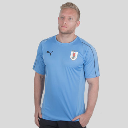 Puma Uruguay 17/18 S/S Football Training Shirt