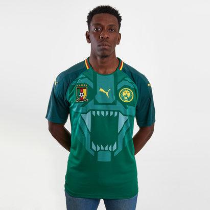 Puma Cameroon 17/18 Home S/S Replica Football Shirt
