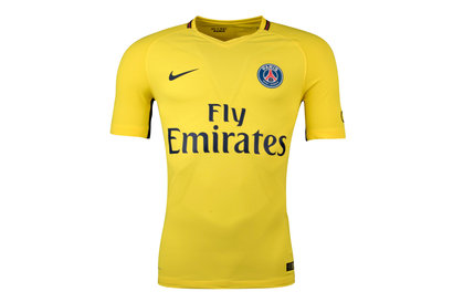Nike Paris Saint-Germain 17/18 Away Players Match Day S/S Football Shirt
