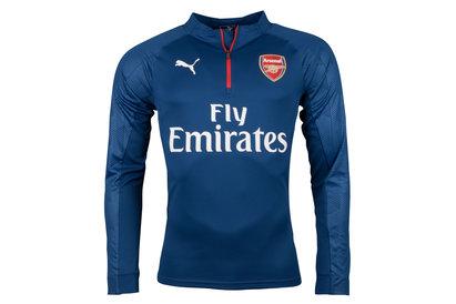 Puma Arsenal 17/18 1/4 Zip Football Training Top