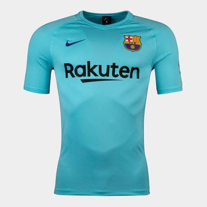 Nike FC Barcelona 17/18 Breathe Squad Football Shirt