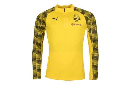 Puma Borussia Dortmund 17/18 1/4 Zip Football Training Top