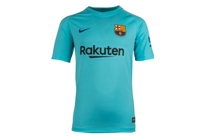 Nike FC Barcelona 17/18 Away Kids Supporters Football Shirt