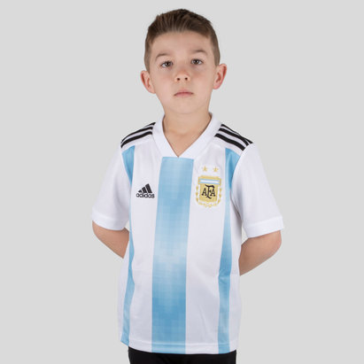 adidas Argentina 2018 Kids Home S/S Football Shirt
