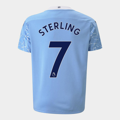 Puma Manchester City Raheem Sterling Home Shirt 20/21 Kids