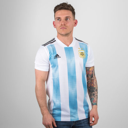 adidas Argentina 2018 Home S/S Football Shirt