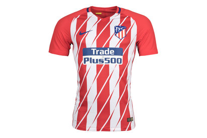 Nike Atletico Madrid 17/18 Home Authentic Match S/S Football Shirt