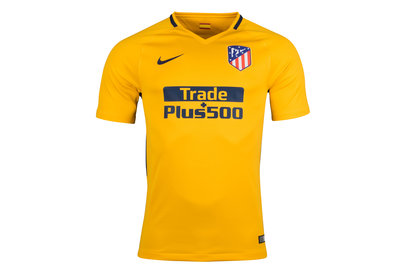 Nike Atletico Madrid 17/18 Away S/S Replica Football Shirt