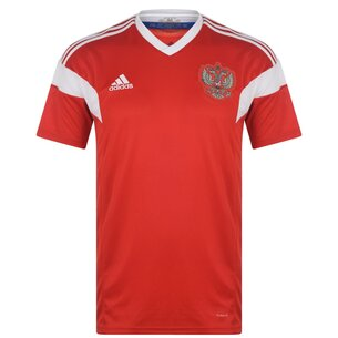 adidas Russia 17/18 Home SS Football Shirt