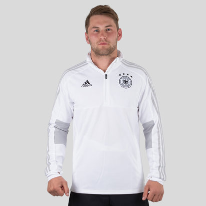 adidas Germany 2018 1/4 Zip Football Training Jacket