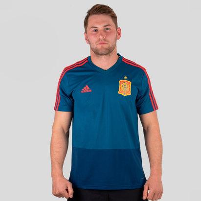 adidas Spain 2018 S S Football Training Shirt 6a62cbbc7