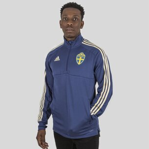 adidas Sweden 2018 1/4 Zip Football Training Top