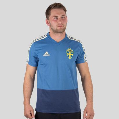 adidas Sweden 2018 S/S Football Training Shirt