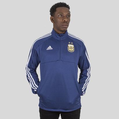 adidas Argentina 2018 1/4 Zip Football Training Top